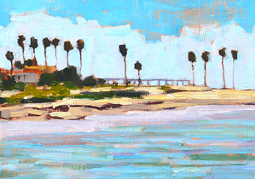 Ocean Beach San Diego OB Painting