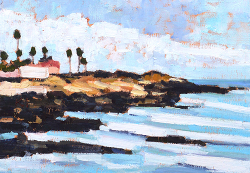 Ocean Beach Painting San Diego Plein Air