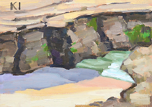 Windansea Beach Painting San Diego Plein Air