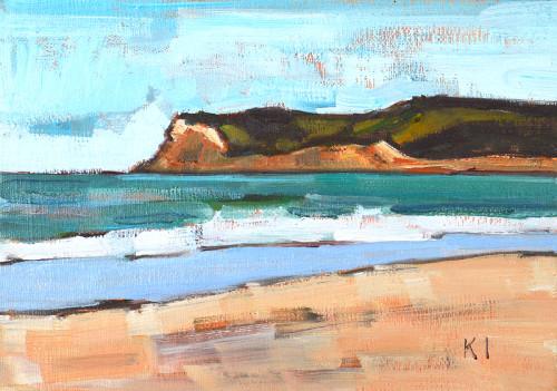 Coronado Beach Painting San Diego