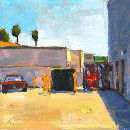 Dumpster Painting Alley California Marukai San Diego