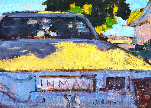 Old Car Painting San Diego