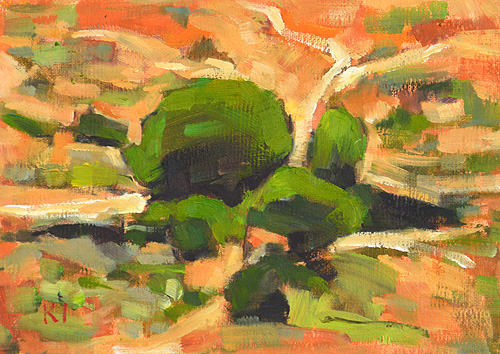 Balboa Park Painting San Diego Landscape Plein Air