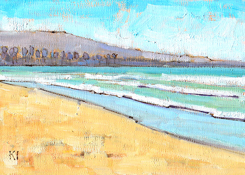 Pacific Beach Painting San Diego Plein Air