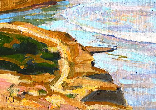 San Diego Painting Ocean Beach