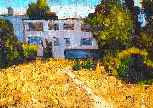 Hillcrest Landscape Painting San Diego