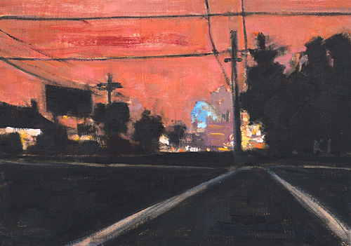 San Diego Night Painting