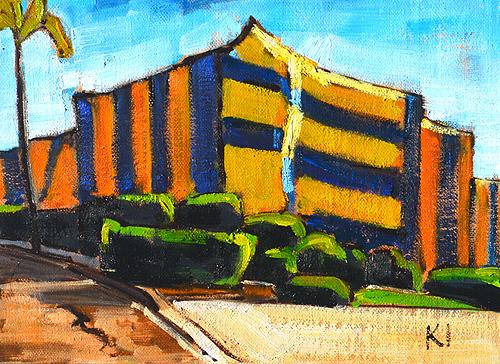 Termite Tent Painting California Urban Realism