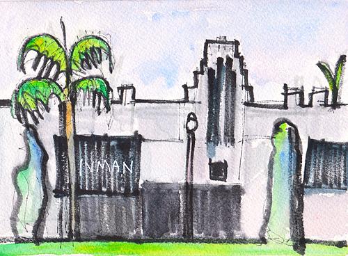 Coronado California Watercolor Painting