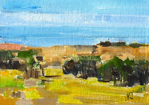 Laguna Canyon Landscape Painting