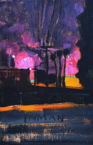 San Diego Fireworks Painting