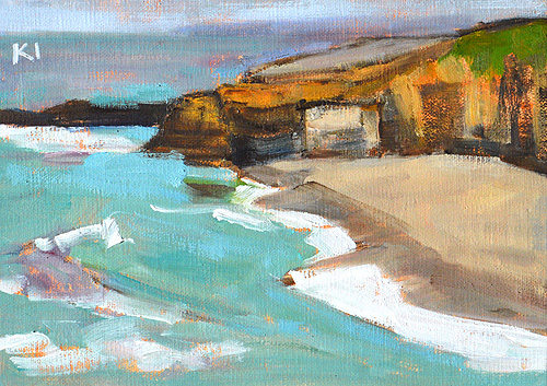 La Jolla Beach Painting San Diego