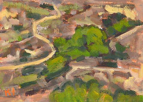 San Diego Canyon Landscape Painting