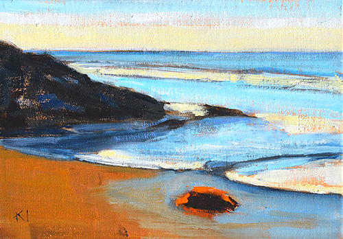 Carpinteria Santa Barbara Beach Painting