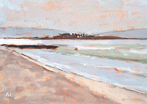 Coronado Beach Painting San Diego Landscape
