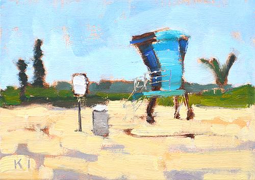 Coronado Beach Painting