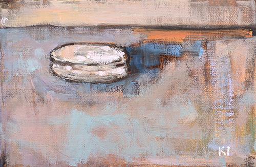 Macaron painting