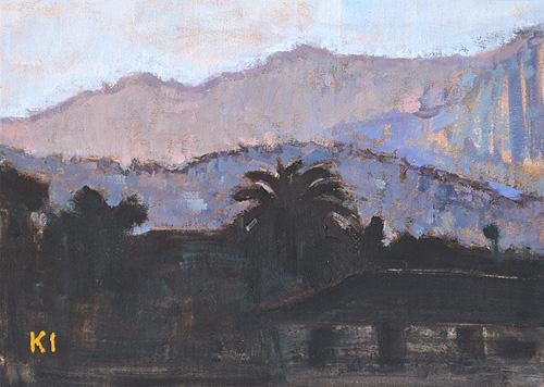 Santa Barbara Landscape Painting