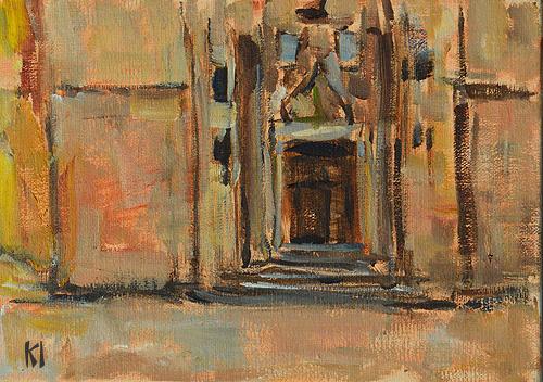 Santa Maria Del Mar Barcelona Painting