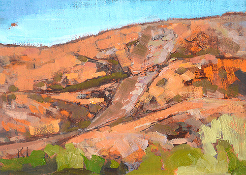 Mission Trails Landscape Painting