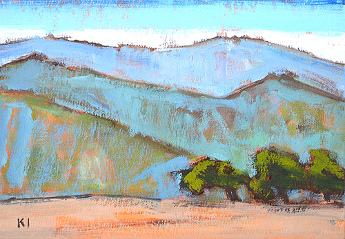 Santa Ynez Valley Landscape Painting