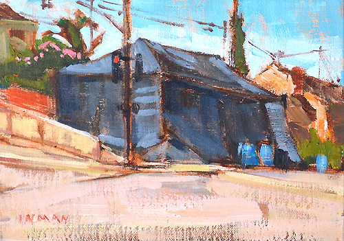 Termite Tent San Diego Painting