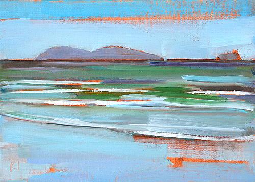 Silver Strand Beach Painting San Diego