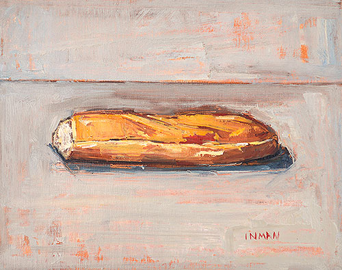 Baguette Still Life Painting