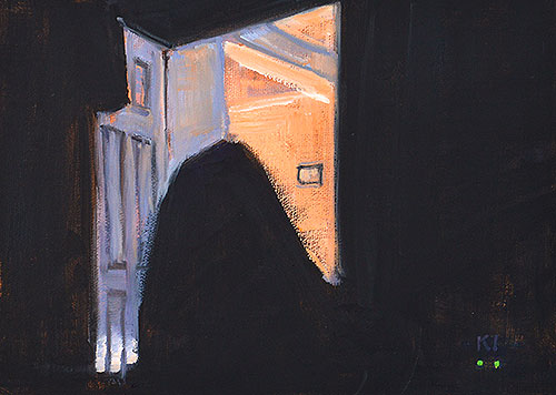 The Ghost in the Bedroom Painting