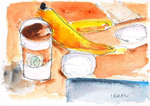 Coffee Still Life Painting