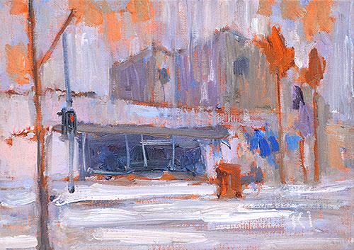 Coronado Painting Rain