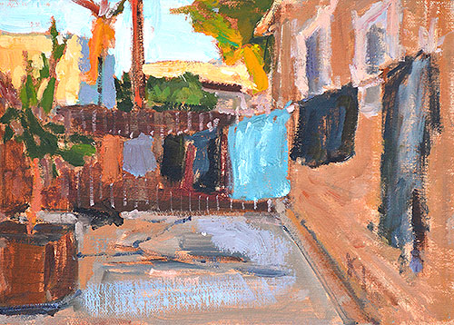 Laundry Painting