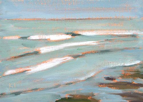 Ocean Beach Painting San Diego