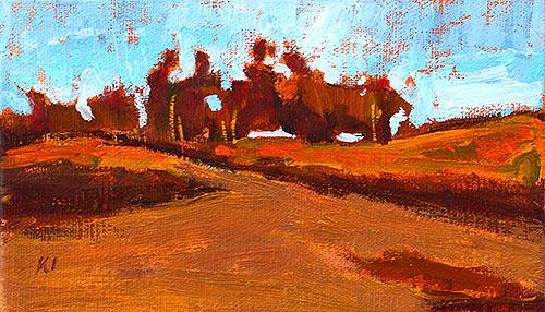 Balboa Park Landscape Painting