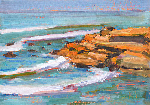 Cabrillo Plein Air Painting San Diego
