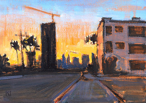 San Diego Painting Downtown Plein Air