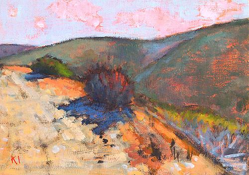 Laguna Canyon Landscape Painting Irvine