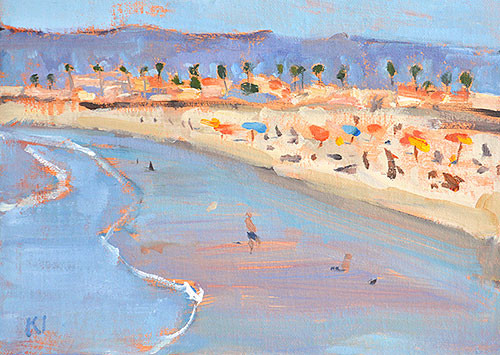 Ocean Beach OB Painting San Diego Plein Air