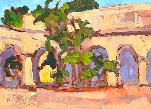 Balboa Park Painting Arches