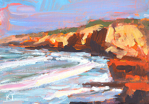 Cabrillo San Diego Plein Air Painting