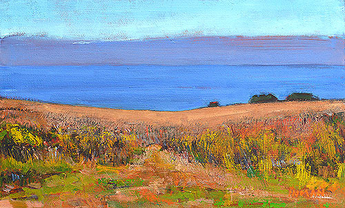 Crystal Cove Landscape Painting Laguna Beach