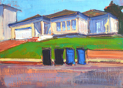 Trash Cans Painting San Diego