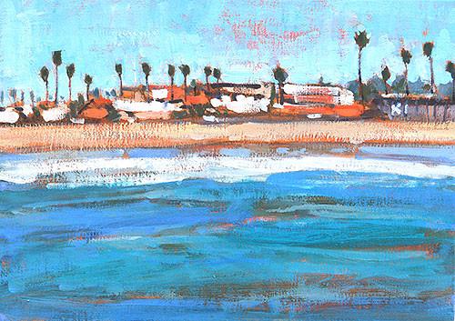 Ocean Beach Painting OB San Diego