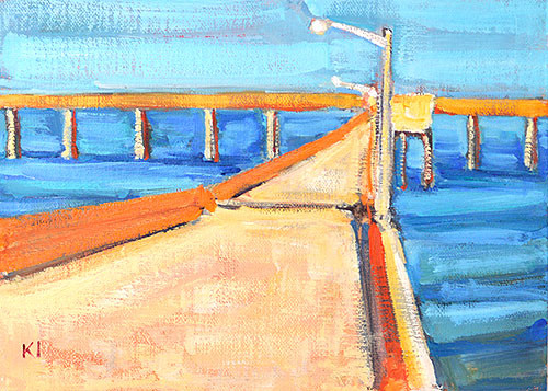 Ocean Beach Pier Plein Air Painting