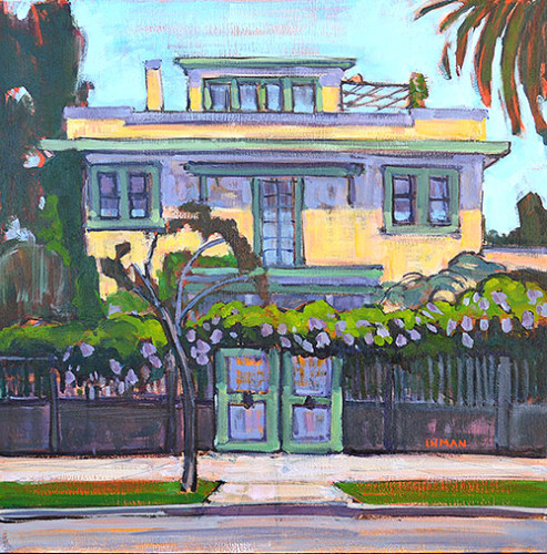 Custom House Portrait San Diego