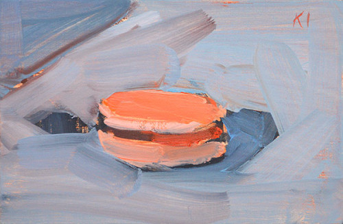 Macaron Still Life Painting