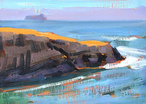 San Diego Plein Air Painting Ocean Beach