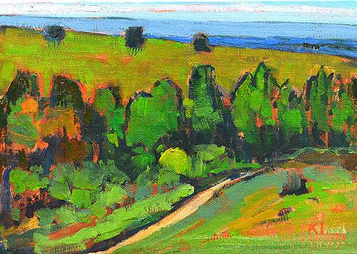 Boise Idaho Landscape Painting