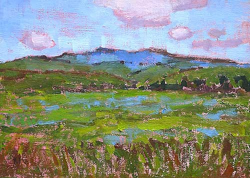Boise Landscape Painting Kevin Inman