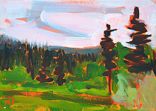 McCall Idaho Landscape Oil Painting
